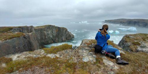 Exploring the cliffs and icebergs on the Bonavista Peninsula
