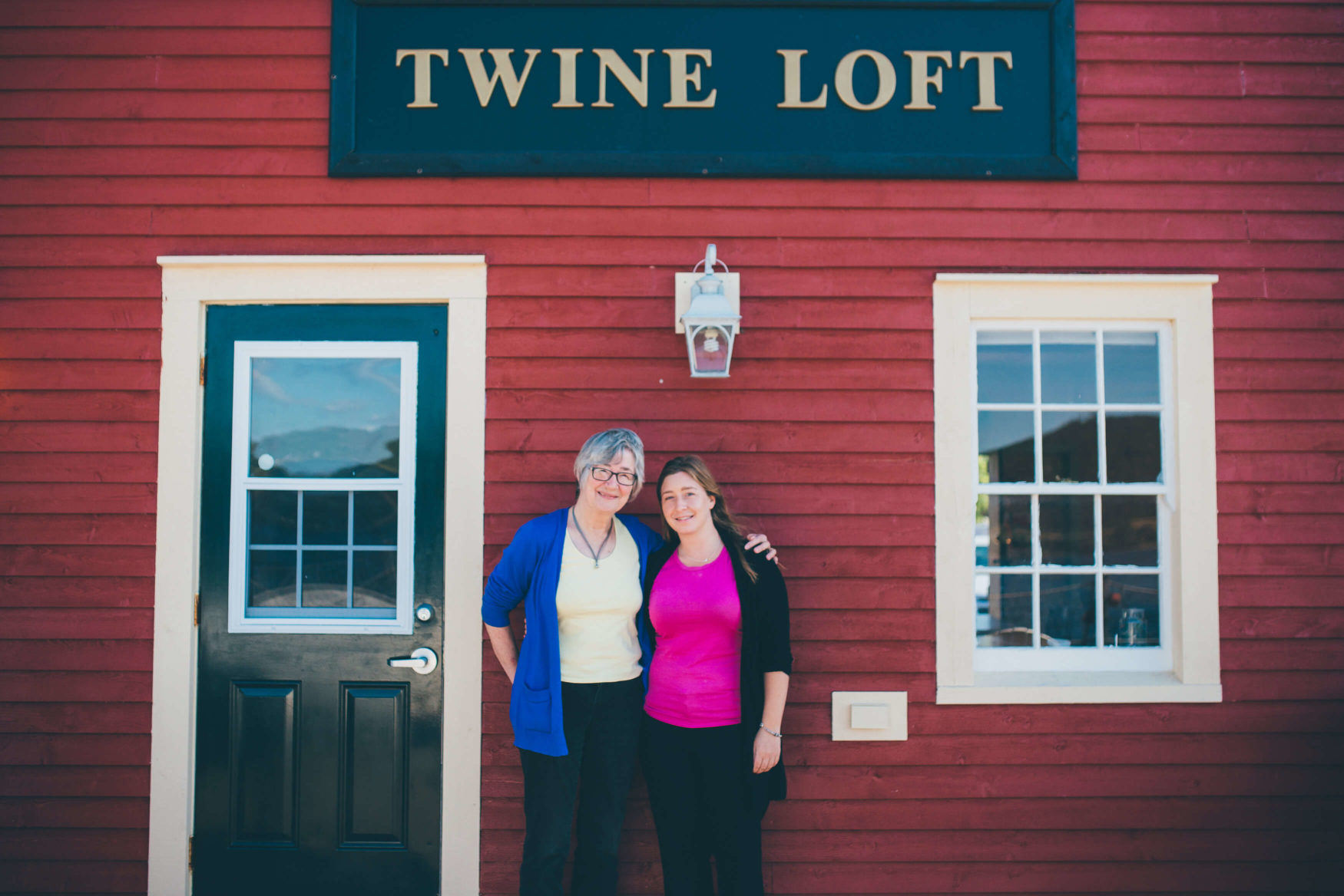 Mother and daughter Tineke and Marieke Gow co-run the Artisan Inn started by Tineke in 1992