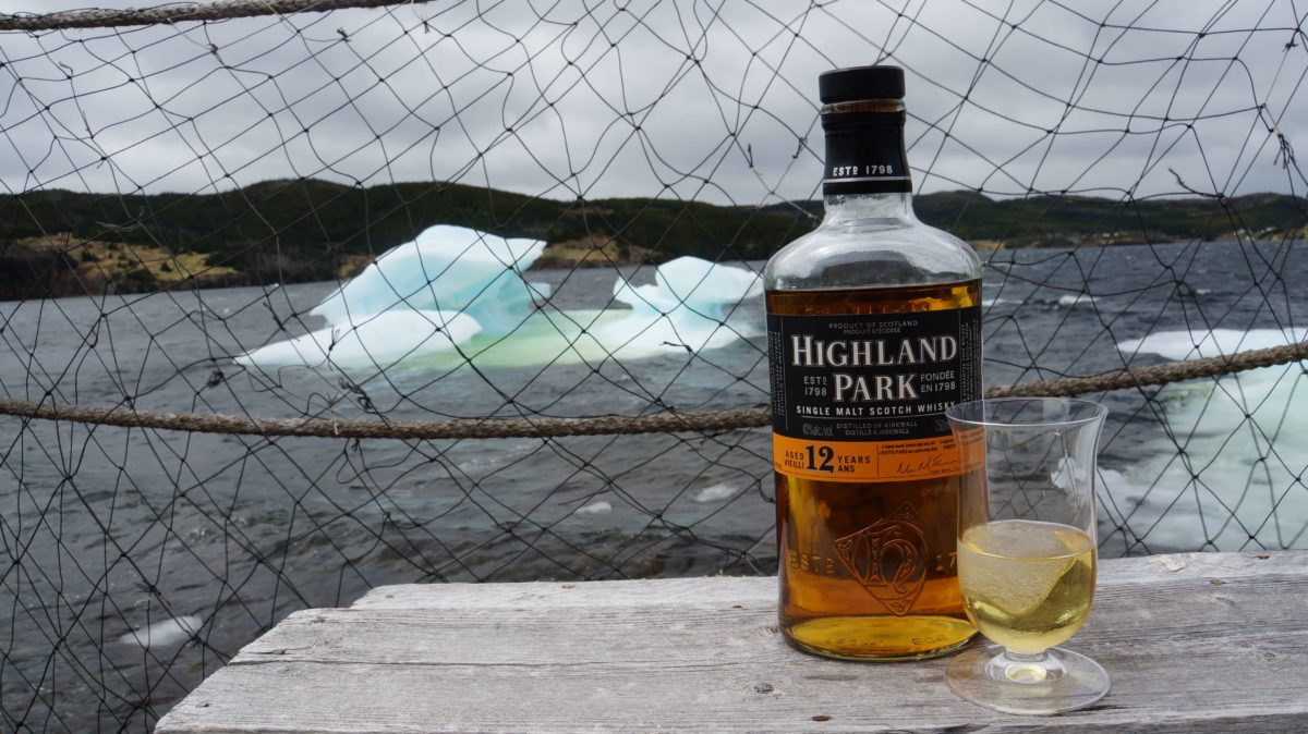 12 over 12 on the Twine Loft deck: 12 year old Scotch poured over 12 thousand year old ice.