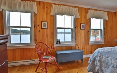 View from Cove Cottage vacation home