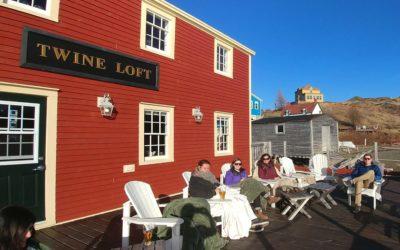 Happy Hour on Twine Loft Deck