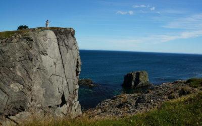 Cliffs of Skerwink Trail
