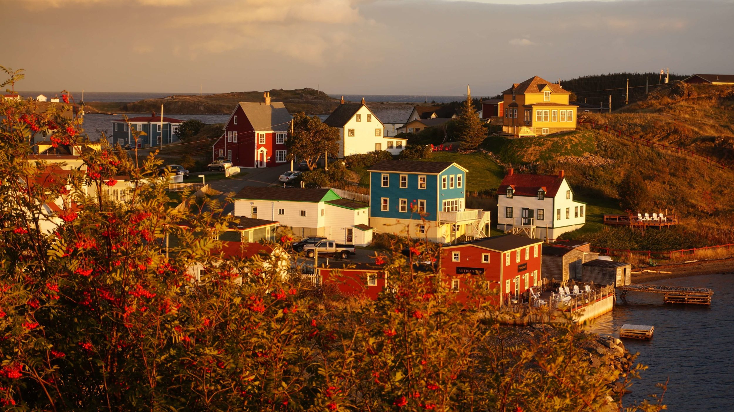Late October in Trinity Newfoundland