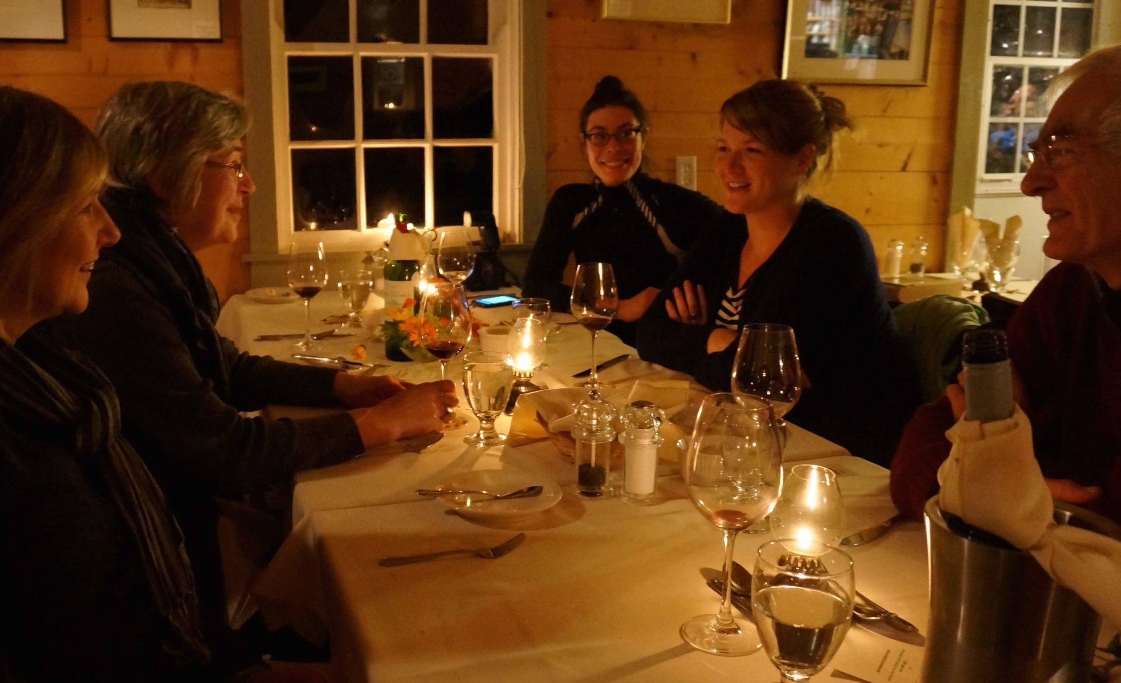 Dine by candlelight at the The Twine Loft