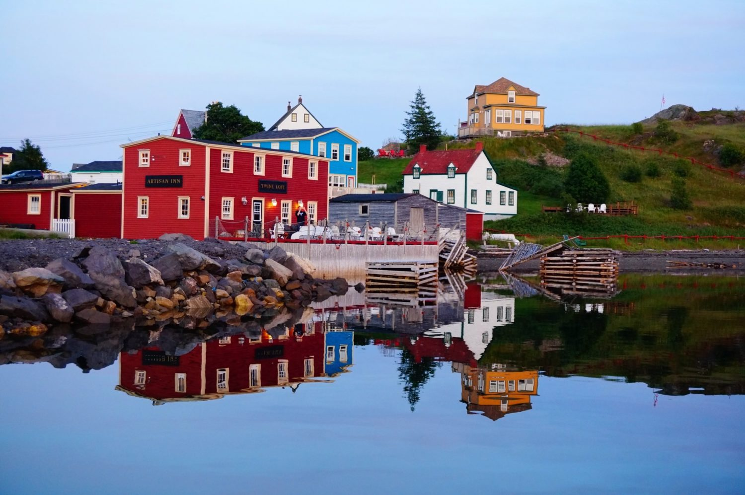 Traditional houses of Trinity Newfoundland